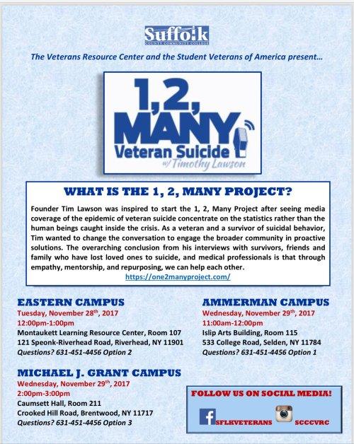 Veterans Suicide Prevention